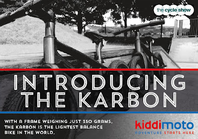 Кидимото баланс байк от карбон детски велосипед много лек