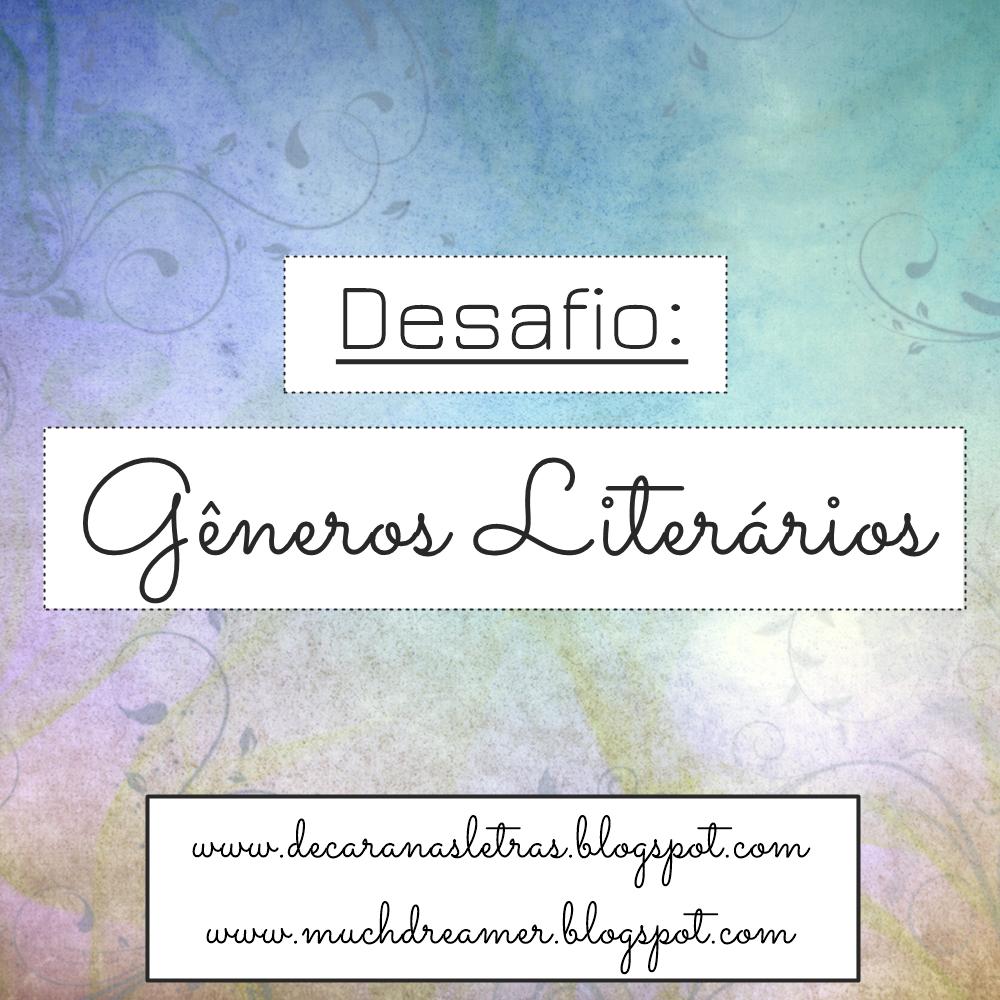 Entre Séries e Livros    Desafio  Gêneros Literários ea89083a65b