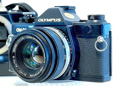 Olympus OM-2S, View, Right Front