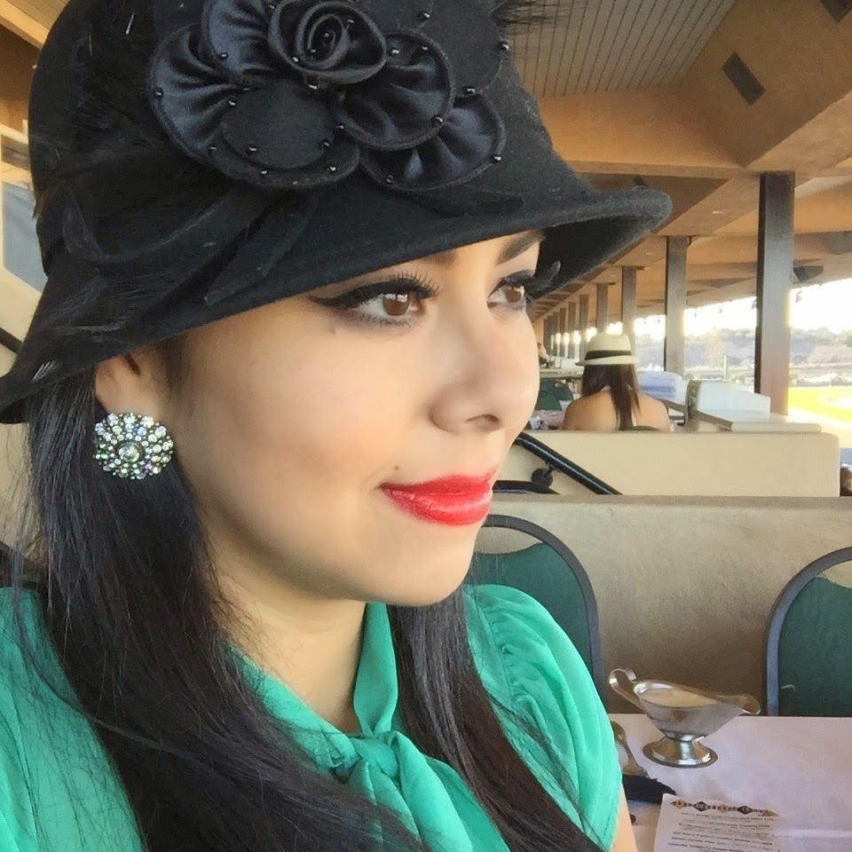 Selfie, bing crosby del mar racing opening day, bing crosby season, what to wear to bing crosby season