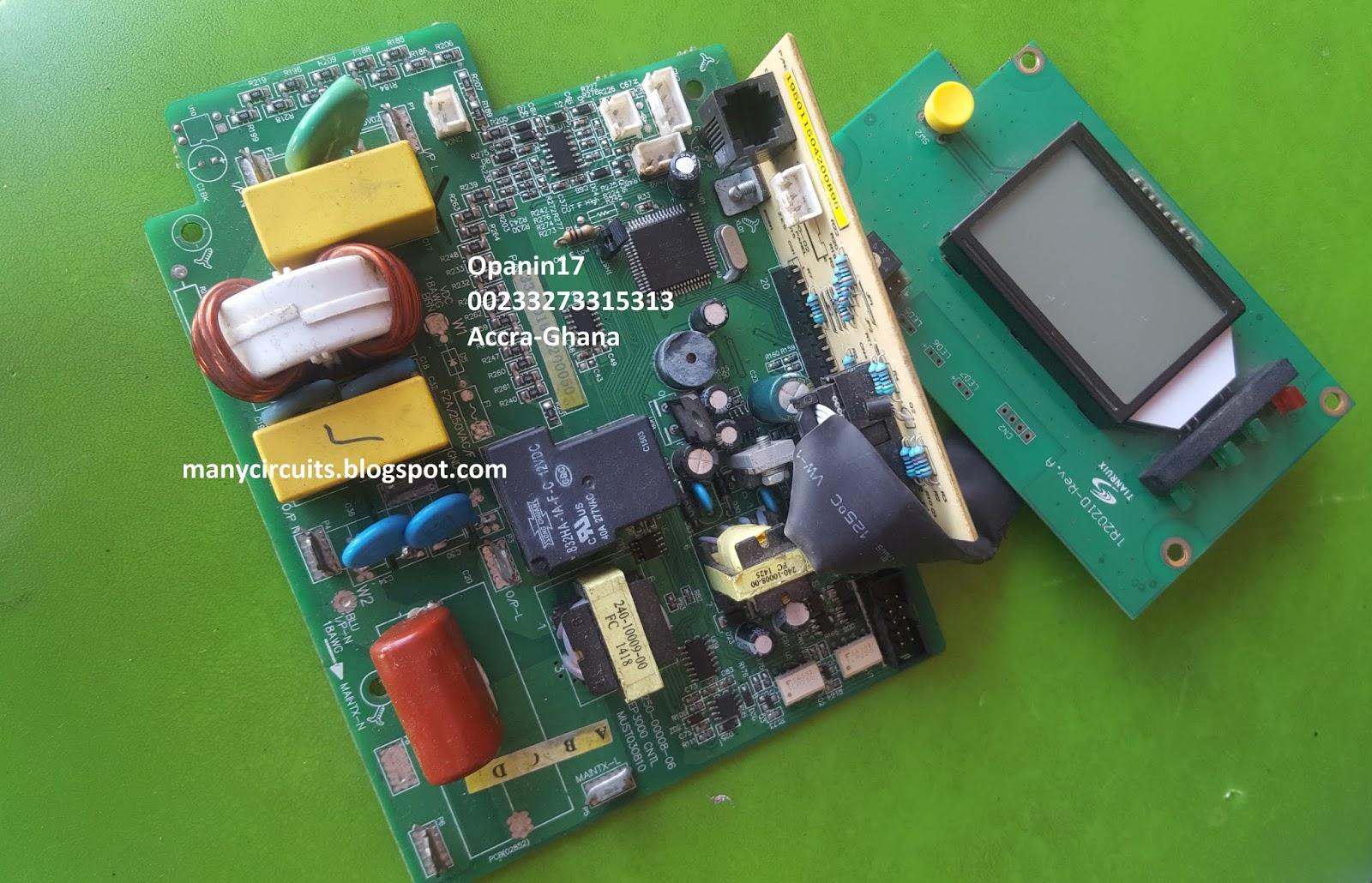 MUST, POWER STAR, FELICITY INVERTER REPAIRS   Many circuits