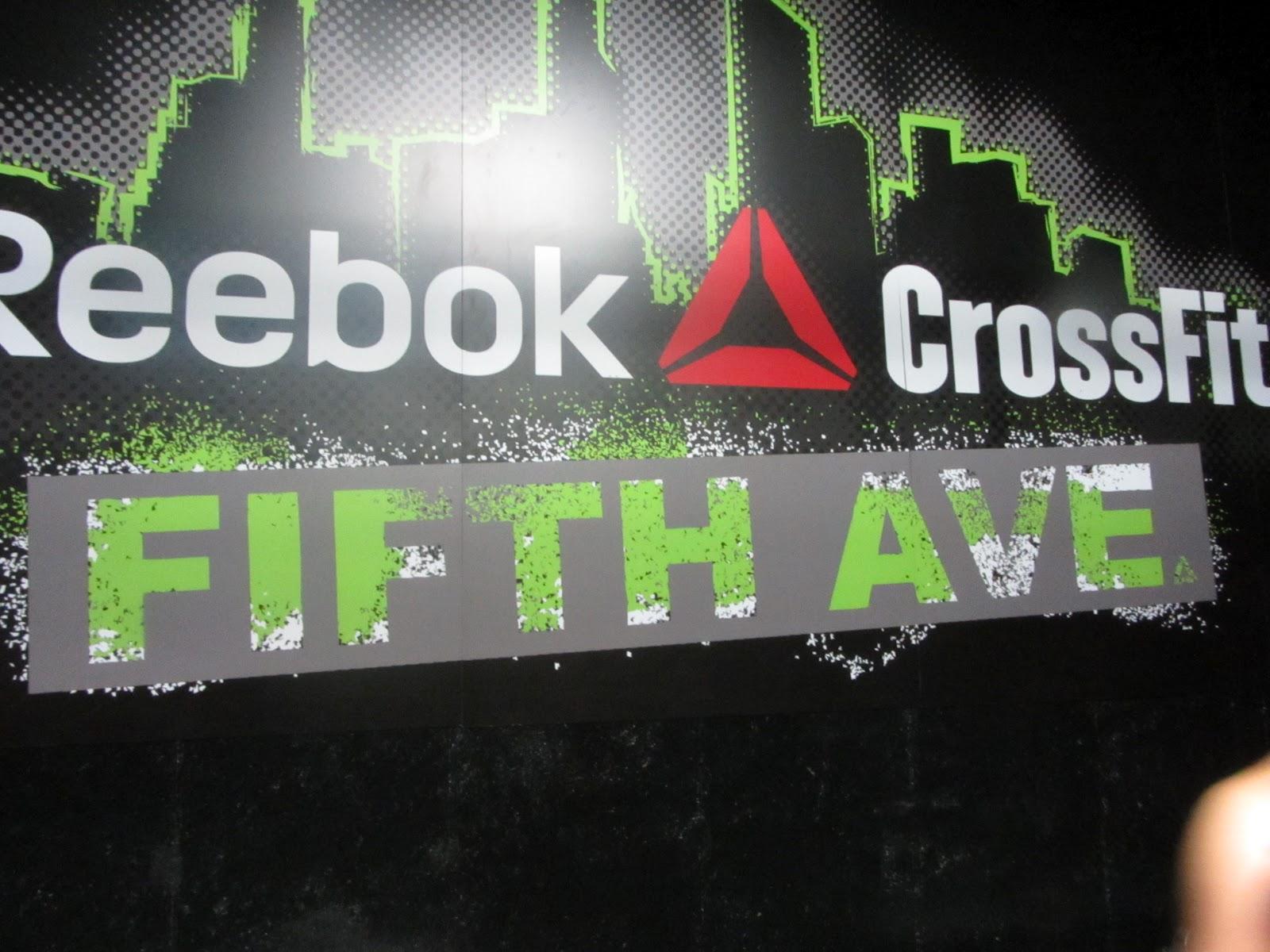 reebok crossfit 5th ave shirts