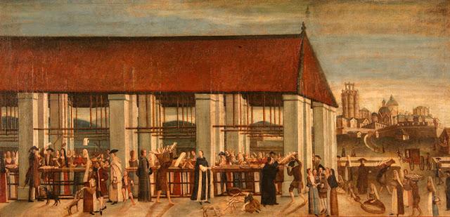 Mercat de Born s. XVIII