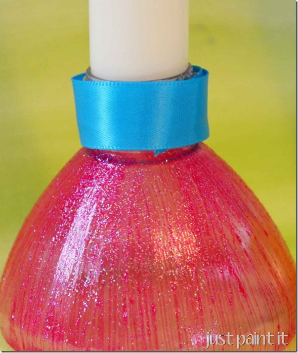 How To Recycle Recycle Water Bottles Into Candle Holders
