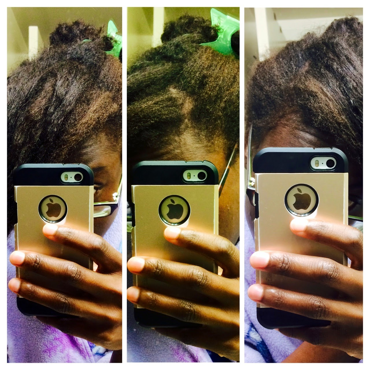 Lightening Natural Hair without Chemicals | Maple Syrup