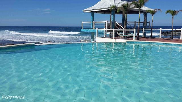 Treasures Of Bolinao Hotels Infinity Pool Beach View Patar Resorts Pangasinan Philippines Travel