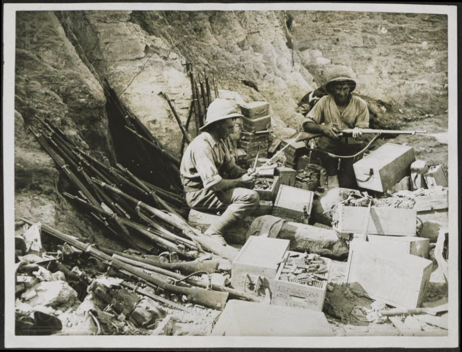 Wargames Obsession: Historical Photos of ANZAC weapons for