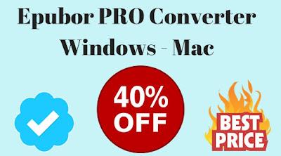 epubor pro converter license key discount coupon codes, rabatt, lizenzschlüssel
