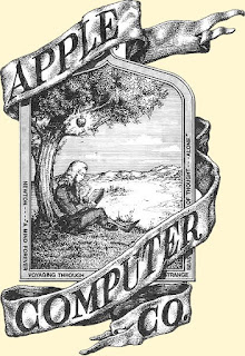 First Apple Computer Logo, 1976