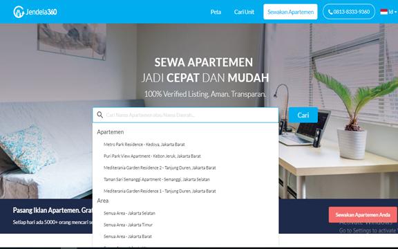 Jendela360, Cara Cerdas Menyewa Apartemen Idaman di Ibu Kota!