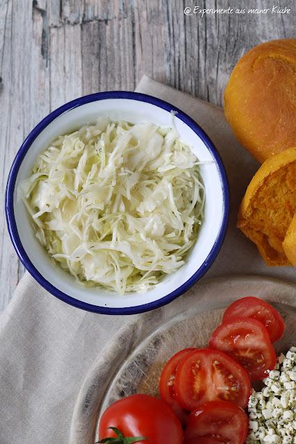 Experimente aus meiner Küche: Krautsalat (wie beim Griechen)
