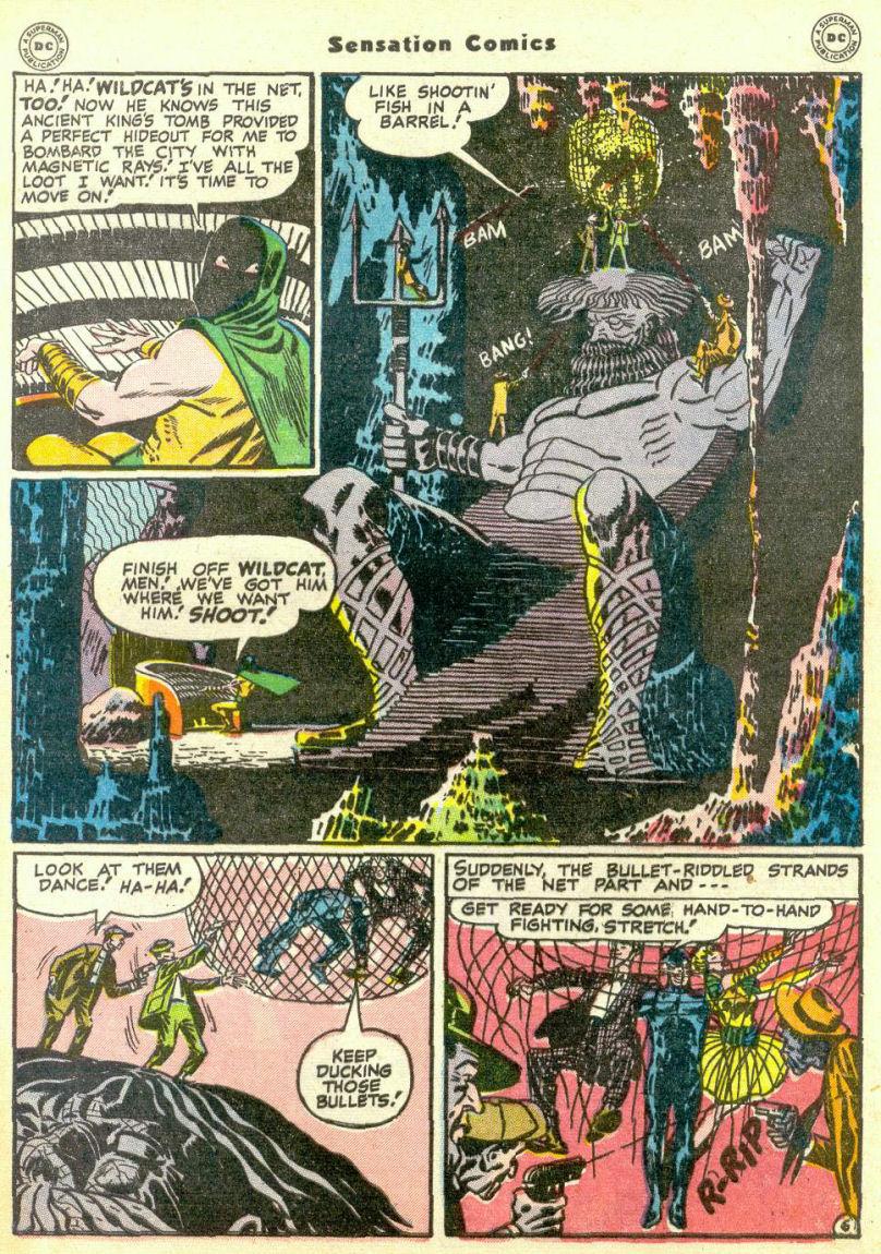 Read online Sensation (Mystery) Comics comic -  Issue #67 - 47