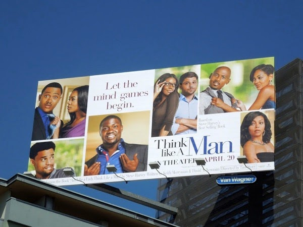Think Like a Man movie billboard 2012