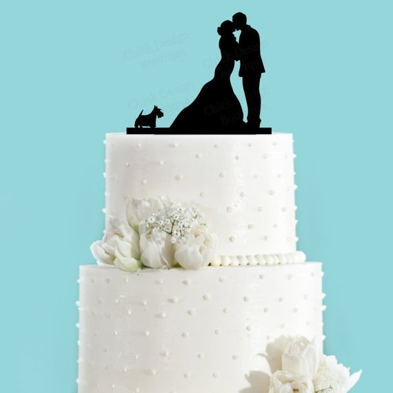 How To Make A Scottie Dog Cake Topper