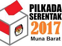 Hasil Hitung Cepat / Quick Count Pilkada / Pilbup Muna Barat 2017