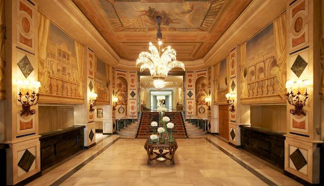 Westin Palace Madrid Hotel Lobby