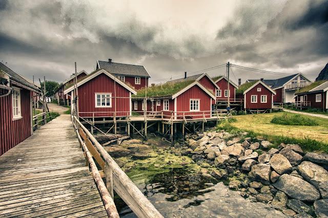Rorbuer a Reine-Isole Lofoten