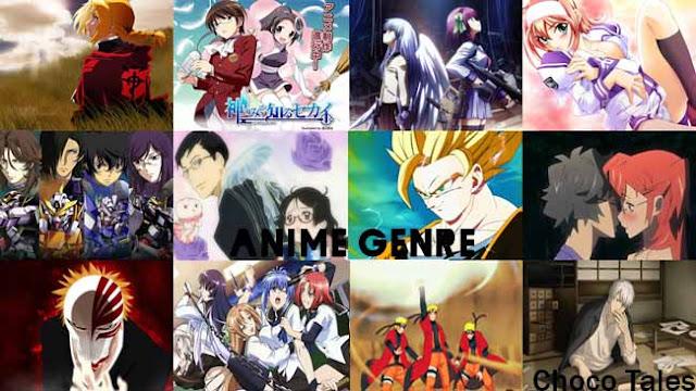 Pengertian dan Penjelasan Beberapa Genre Anime