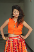 Shubhangi Bant in Orange Lehenga Choli Stunning Beauty ~  Exclusive Celebrities Galleries 007.JPG