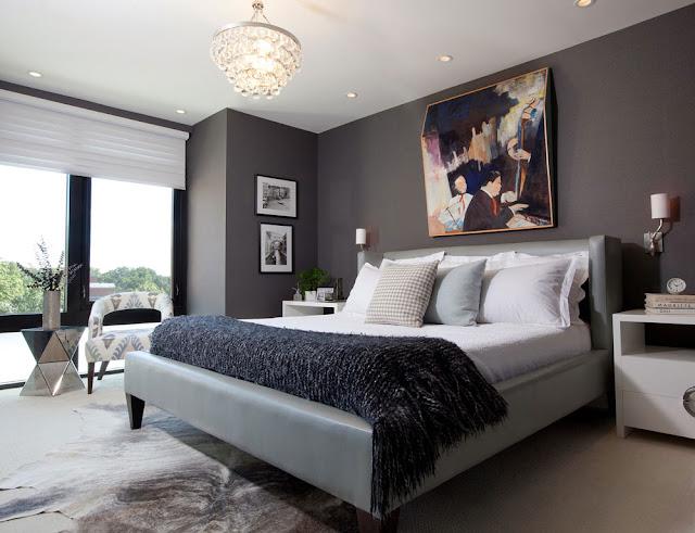 kamar tidur yang mewah