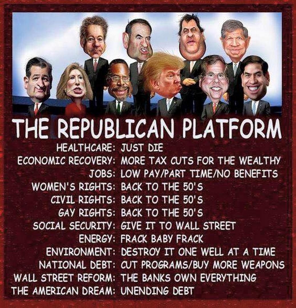 The Republican News: Acerbic Politics: Republican Bullshit