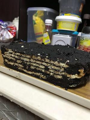 Resepi Kek Batik Delicious