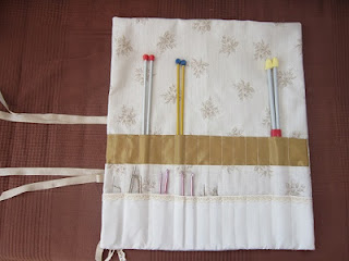 funda agujas, needle roll