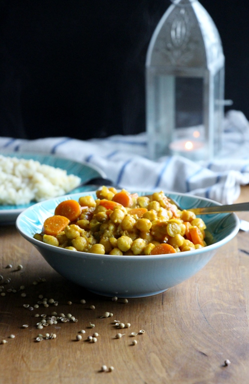 Chana Masala | Einfaches Kichererbsen - Curry