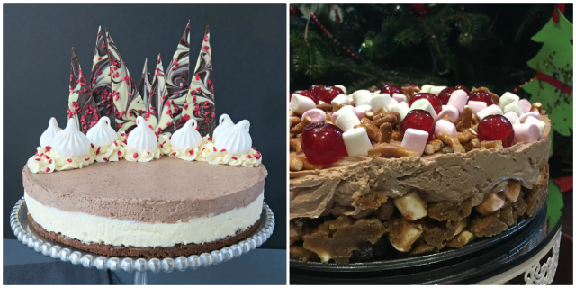 Alternative Christmas Desserts - cheesecake