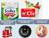 Logo Scottex : concorso ''101 Usi per 101 Premi''