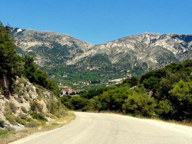 Saint Gerasimos Monastery in Omala, Kefalonia (Greece)