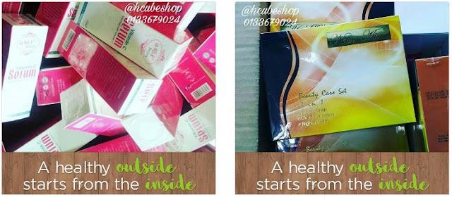 Jualan Produk Kecantikan Kesihatan Original Secara Online di HCube Shop