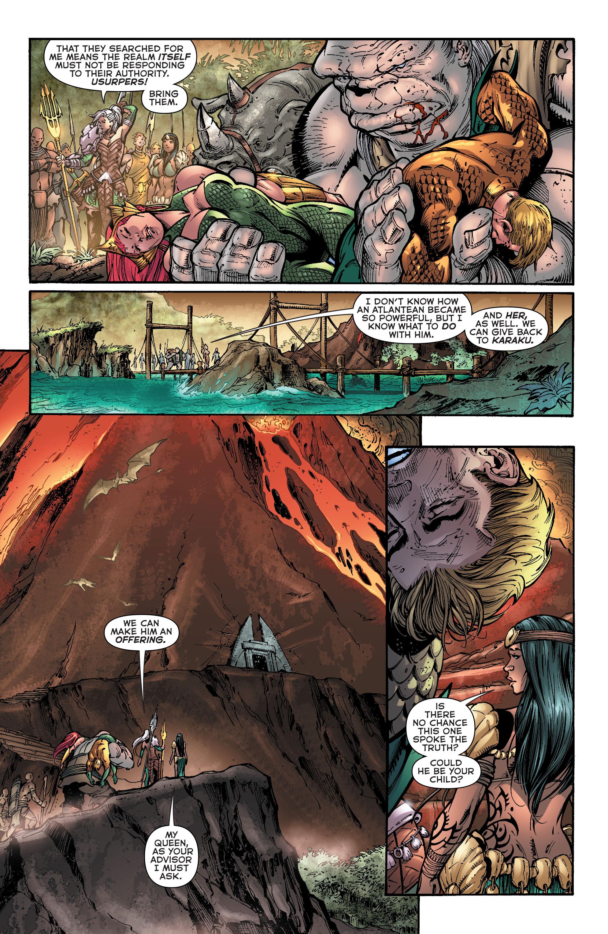 Read online Aquaman (2011) comic -  Issue #39 - 7