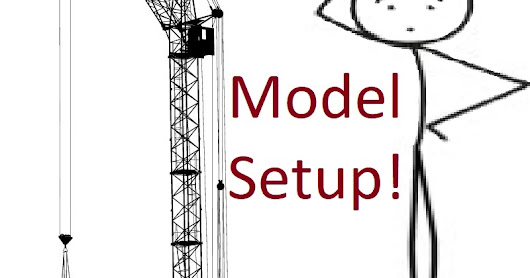 Considerations of BIM/Model Setup