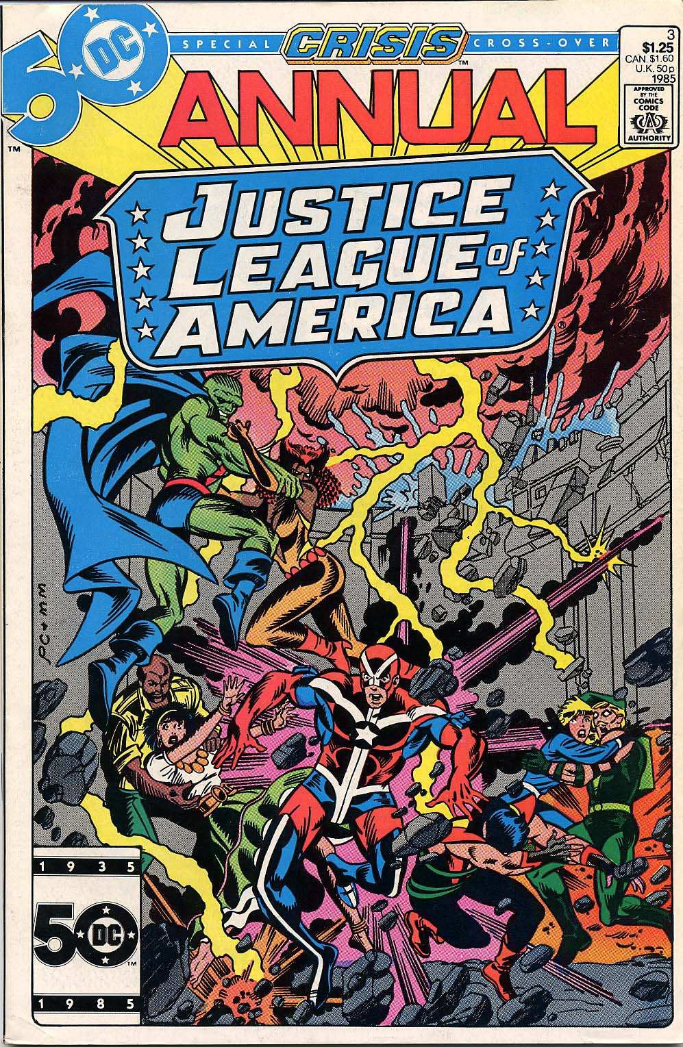 Justice League of America (1960) _Annual_3 Page 1