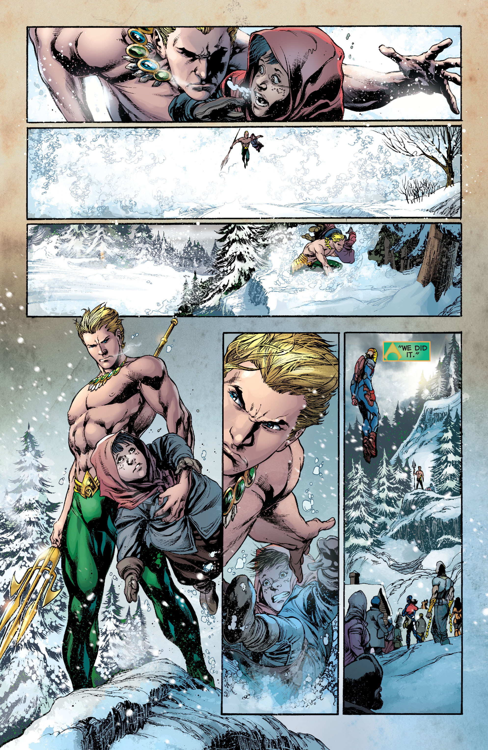 Read online Aquaman (2011) comic -  Issue #8 - 18