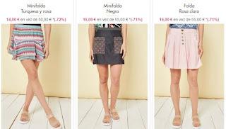 faldas de la marca Smash