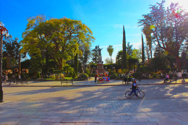 dolores hidalgo plaza principal Jardin del Grande Hidalgo