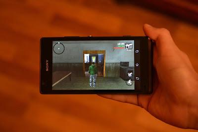 GTA San Andreas on Smartphone