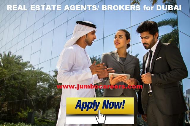 Real estate jobs Salary in Dubai.