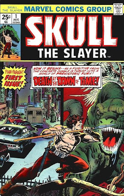 Skull the Slayer #1. the top ten super-heroes with no reason to live