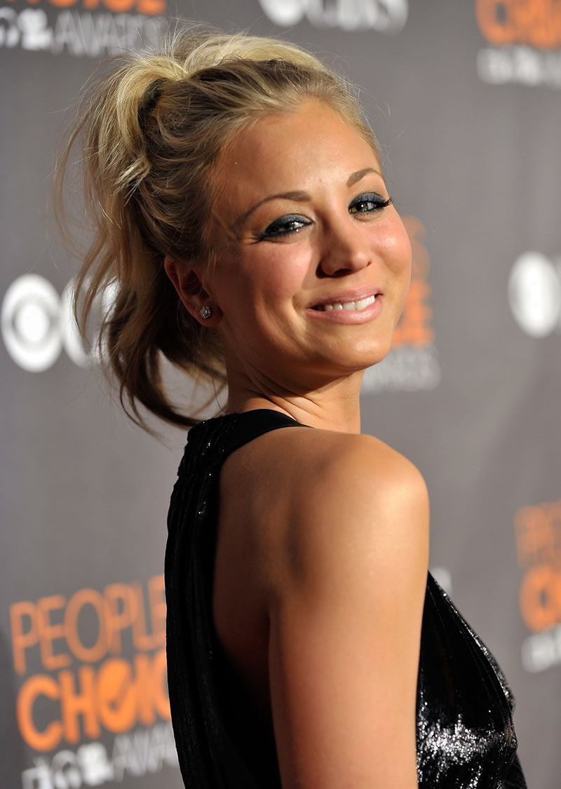 Kaley Cuoco Hairstyle Pictures Trendy Hairstyles 2014