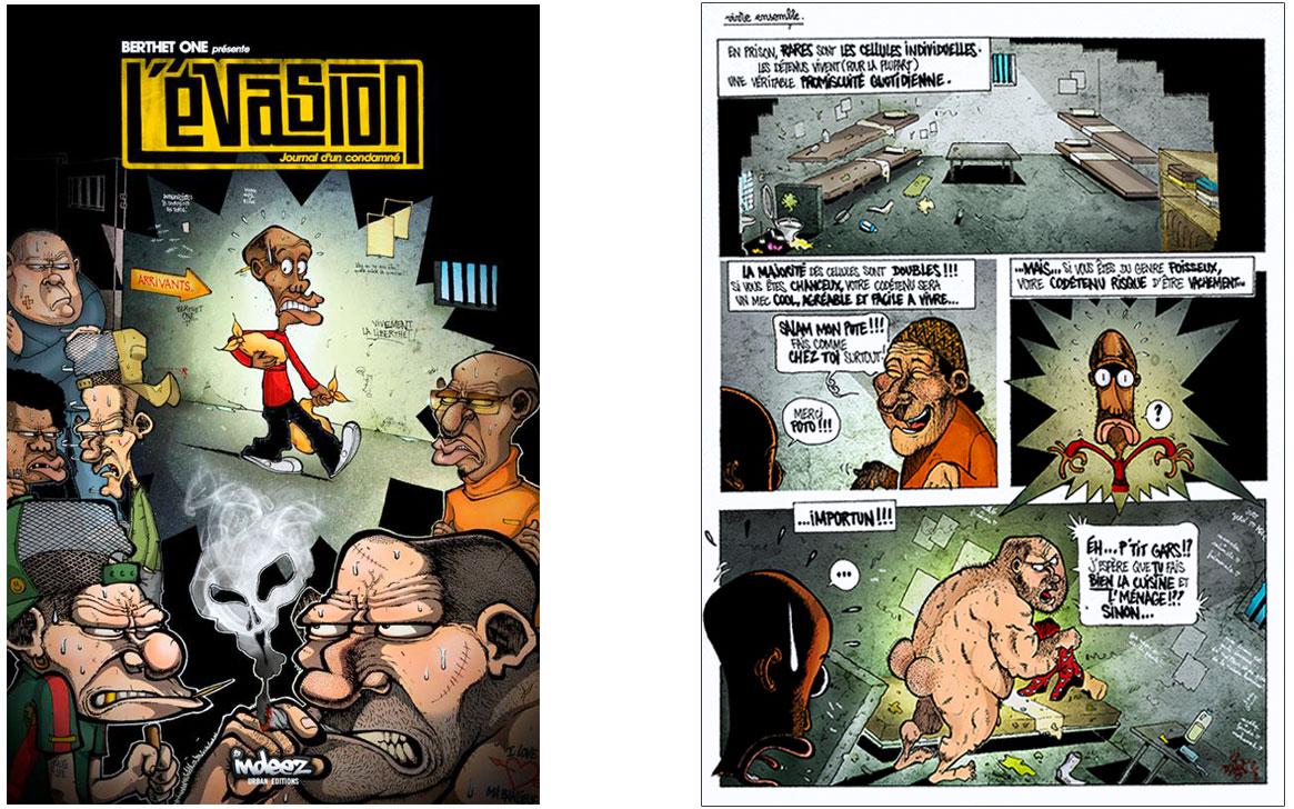Bande dessinée, BD, Berthet One