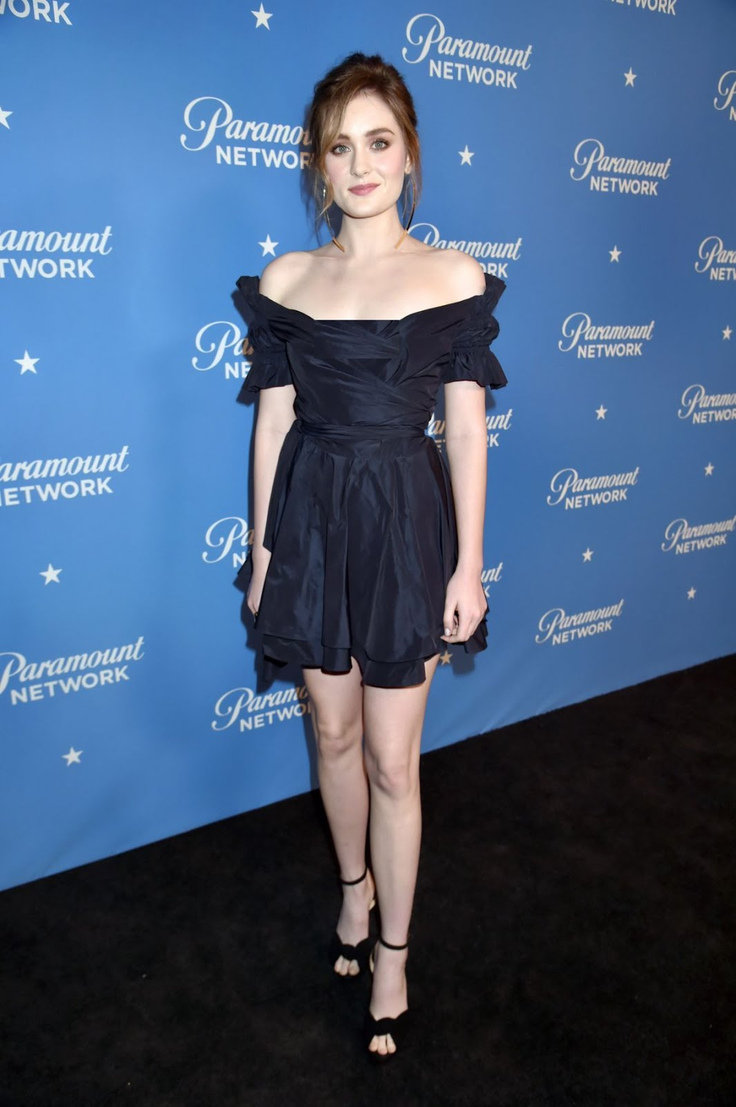 Grace Victoria Cox 2018 Freeform Summit Hollywood