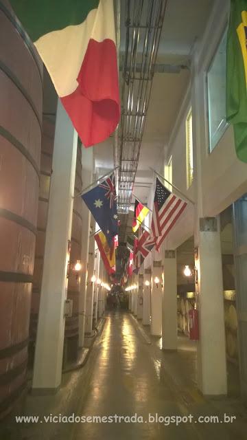 Cooperativa Vinícola Aurora, corredor das bandeiras