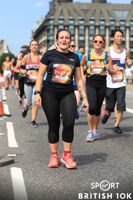 Virgin Sport British 10k - Tess Agnew fitness blogger