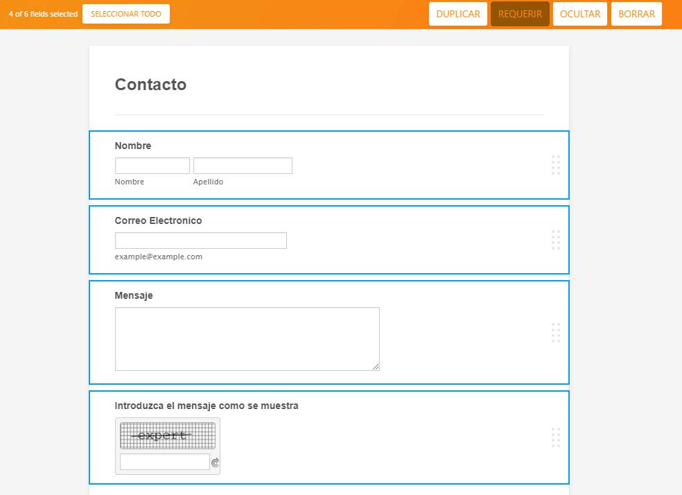 jotform tutorial required requerido validar formulario