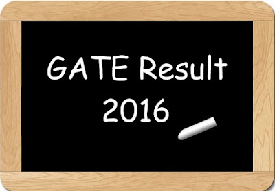 GATE 2016 Result, GATE 2016 Results