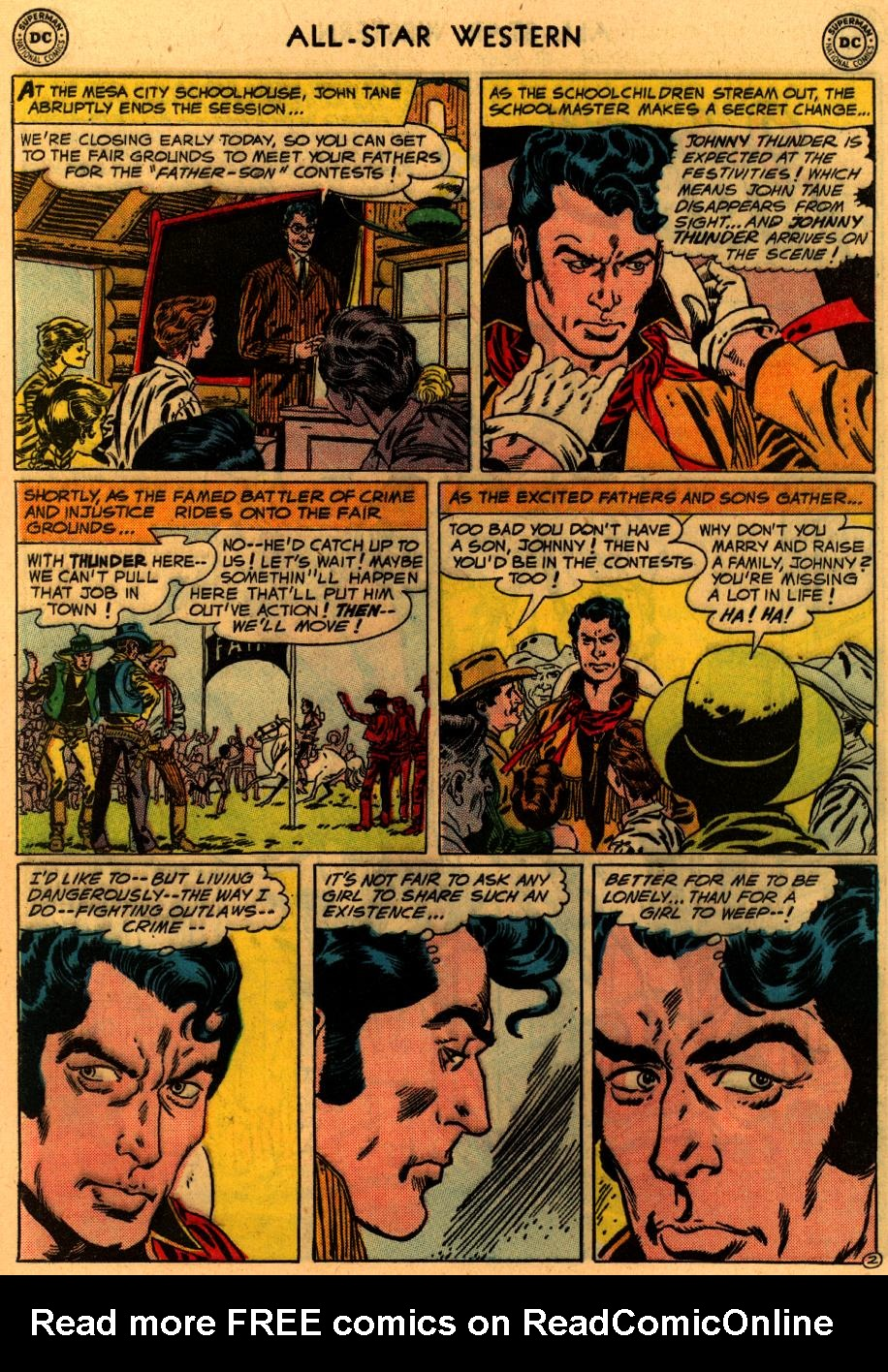 Read online All-Star Western (1951) comic -  Issue #94 - 29