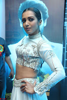 Catherine Tresa in Beautiful emroidery Crop Top Choli and Ghagra at Santosham awards 2017 curtain raiser press meet 02.08.2017 079.JPG